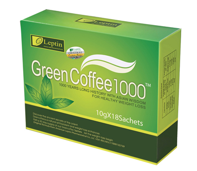 pic_4 Boxes Leptin Green Coffee 1000 TM